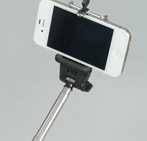 批发自拍杆可伸缩安卓手机自拍神器
