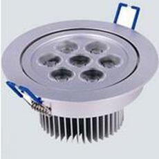 申安照明 led筒灯射灯SA-T012-7x1W 节能正品灯具
