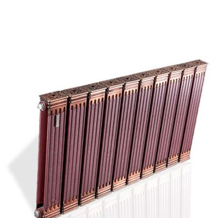 利鑫达夏星散热器铜铝复合9070【罗马柱】圆方样式新颖