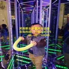 厂家推出爆款镜子迷宫游乐设备