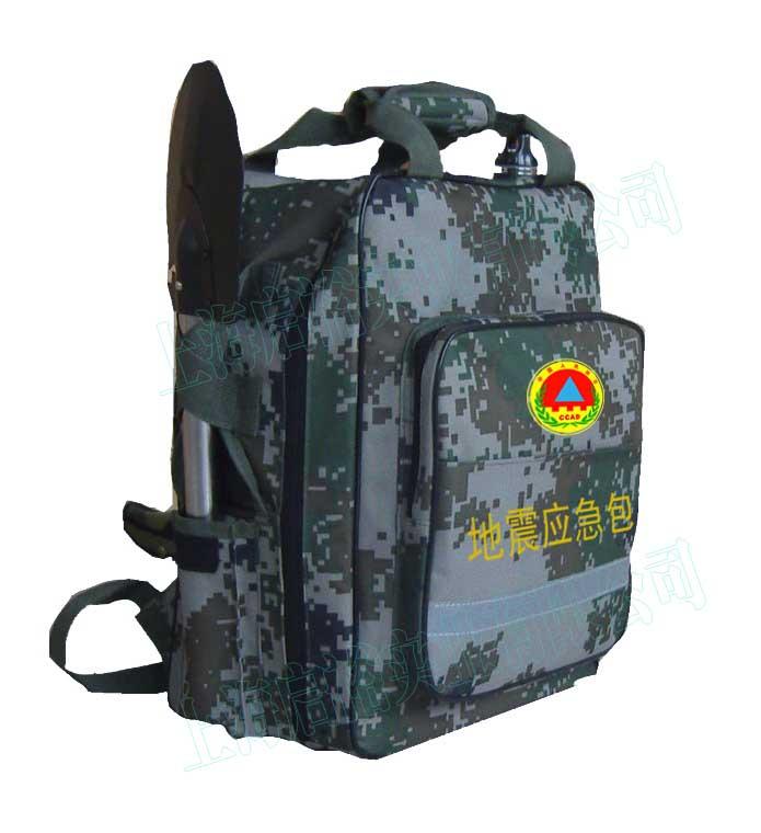 供应启裕HL-150307Y地震应急包  提供给受灾人们维持生命的水 食物及药品