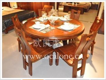 邦瑞 - 餐桌6805+餐椅