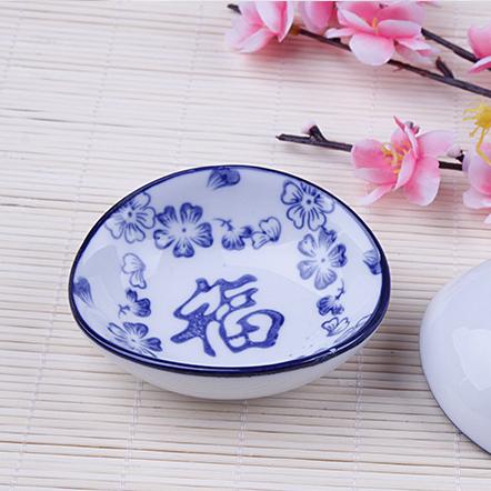 供应中式新青花瓷婚庆碗筷碟瓷器8件套陶瓷家用碗筷餐具套装福碗批发