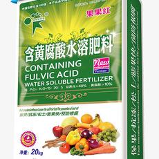 含黄腐酸水溶肥料 保果抗冻防腐根 松土 果果红化肥 新核能化肥