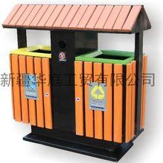 新疆垃圾桶 新疆塑木垃圾桶供应厂家 喀什果皮箱火热畅销
