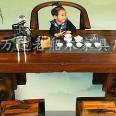 老船木茶桌椅组合批发仿古客厅茶台茶艺桌图片个性功夫茶桌