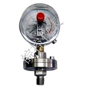 隔膜耐震电接点压力表