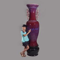 隆泰钧窑 双龙大花瓶