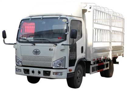 一汽解放j6 4.2米高栏货车