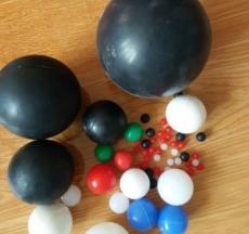 厂家直销振动筛食品级硅胶球 实心弹力橡胶球 硅胶密封球