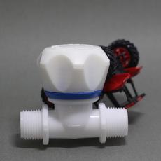 塑料外牙截止阀 建材阀门 塑料截止水阀  厂家直销