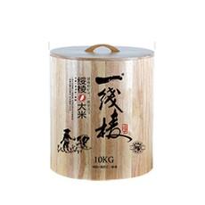 一线棱10kg橡木圆桶