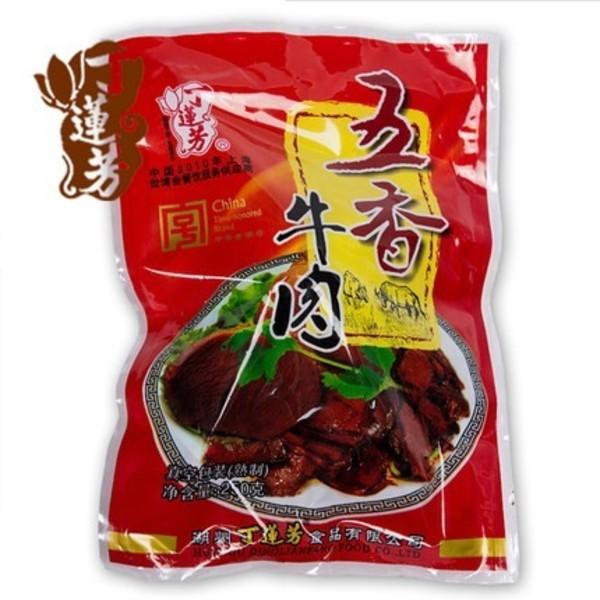 浔之味 丁莲芳250g袋装五香牛肉卤味 休闲零食小吃 湖州特产食品