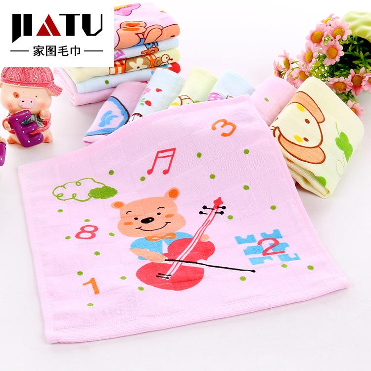 幼儿园毛巾的叠法