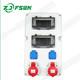 多功能插座箱 PSJC-02检修箱电源箱 手提式便携式防水箱