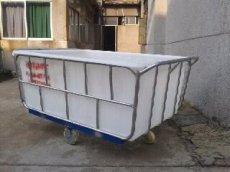 供应:纺织印染推布车,成衣洗水漂染车,耐撞击洗水周转台车
