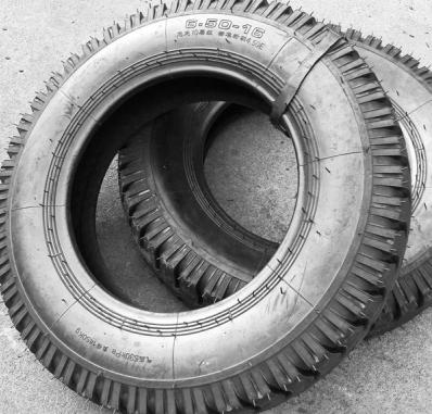 轻卡卡车轮胎600-14lt水曲羊角花纹