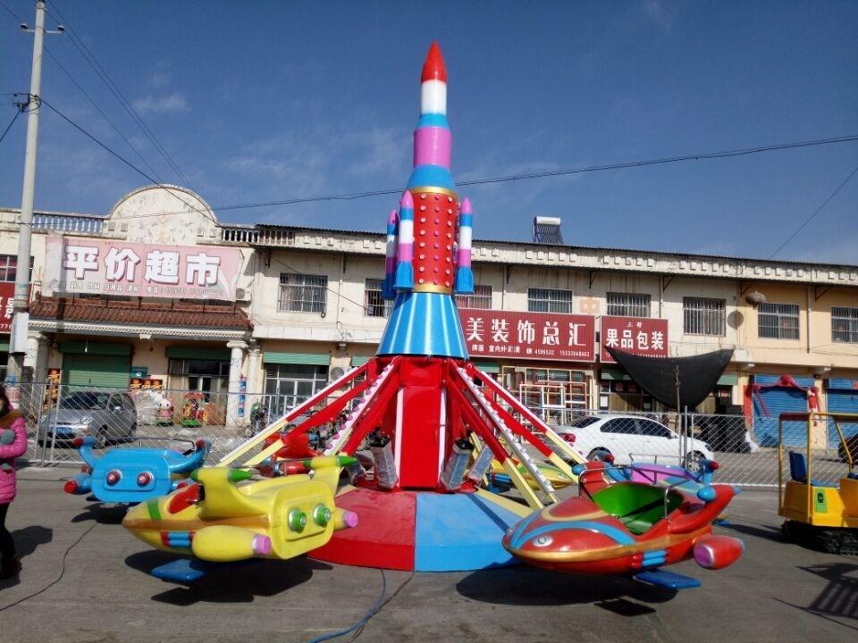 运城户外大型电动自控飞机游乐设备 儿童游乐场旋转升降飞机厂家直销