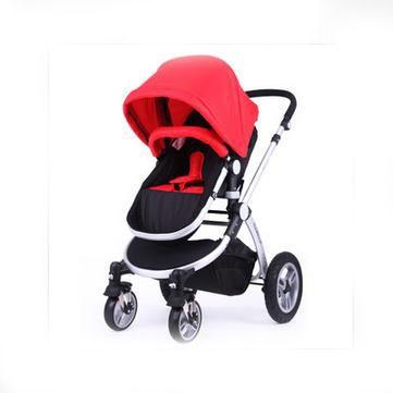 夏季高景观轻便型婴儿车 可躺可坐 独创全蓬设计 5大避震