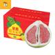 正宗福建平和琯溪蜜柚 红肉蜜柚  两粒礼盒装 原产地直批