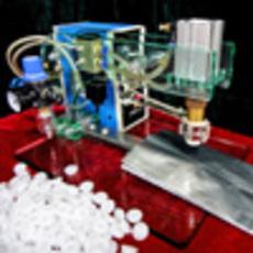 全行业耗电低节能环保排气阀粘合机 HZJP1
