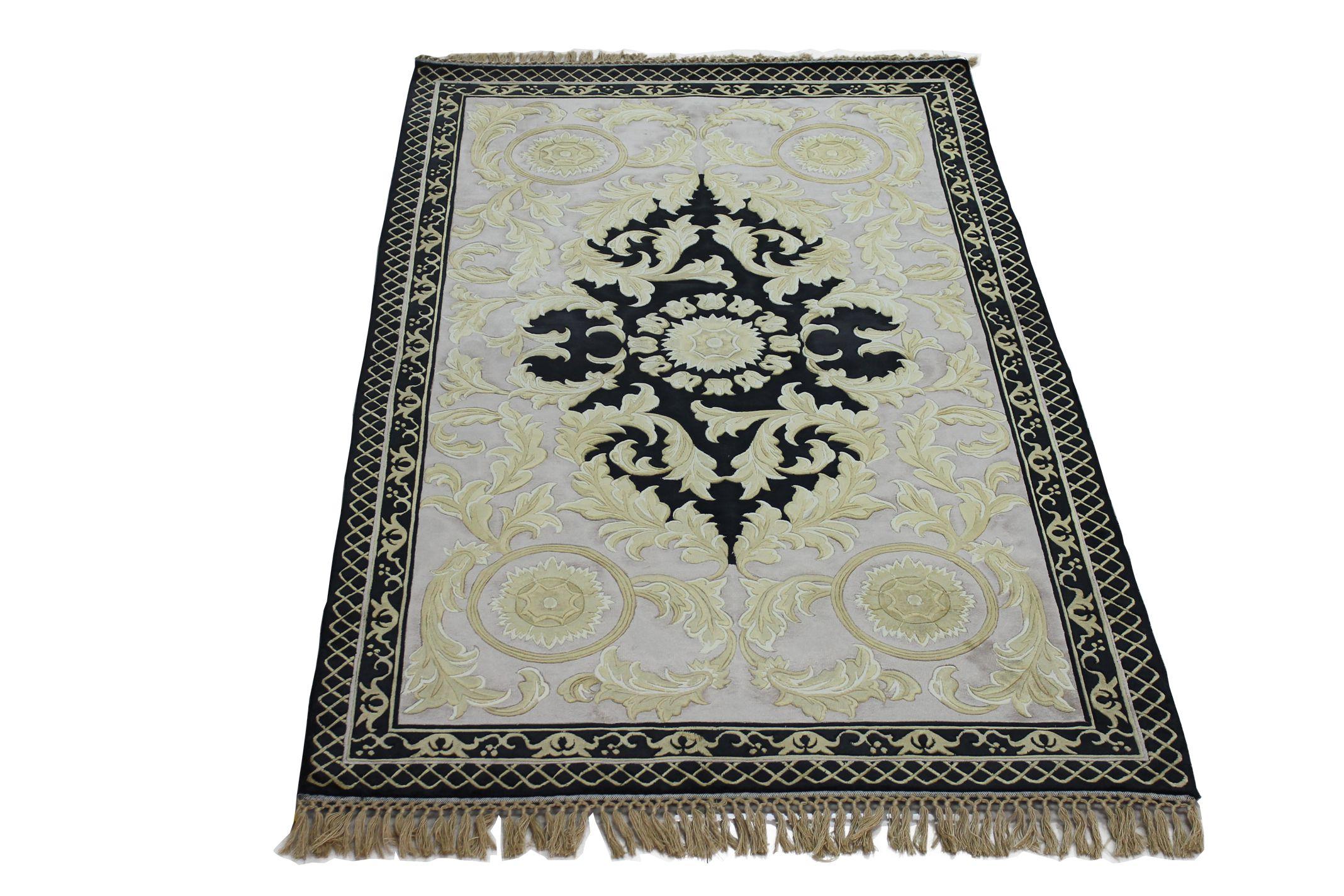 120道丝毯 手工地毯 真丝地毯 手工编织 家装地毯