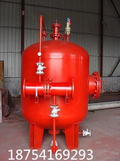 山东供应压力式带胶囊消防泡沫罐厂家