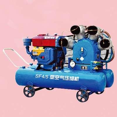 柴油机式空压机图片