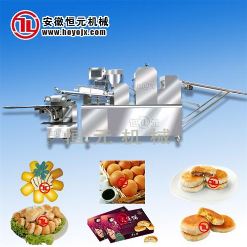 恒元全自动高产量酥饼成型机组