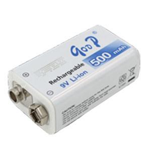 无线麦克风电压表导游机9V500mA锂电电池