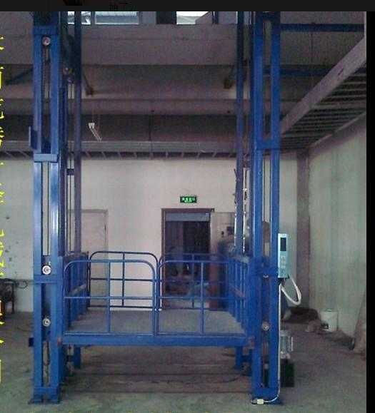 包设计安装液压升降台液压升降货梯电梯导轨式升降机图片