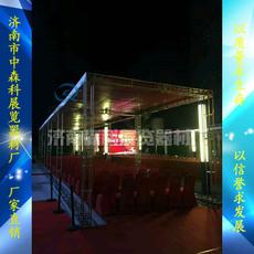 钢铁桁架常规200规格小架子背景架展架济南