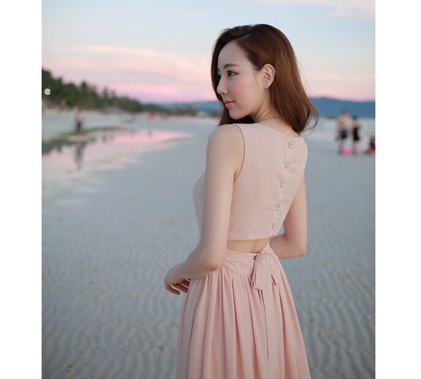 连衣裙夏韩版长裙
