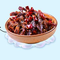 香辣冷吃牛肉170g重庆特产休闲零食小吃麻辣牛肉干