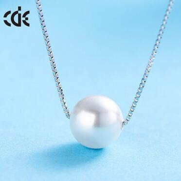 供应 西黛尔S925纯银珍珠项链女款