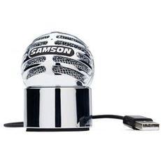 山逊 SAMSON Meteorite陨石 USB接口电容话筒支持ipad麦克风