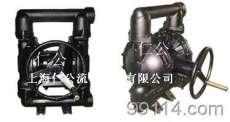 手动铝合金隔膜泵RG25、不锈钢隔膜泵、聚丙烯隔膜泵、PVDF隔膜泵