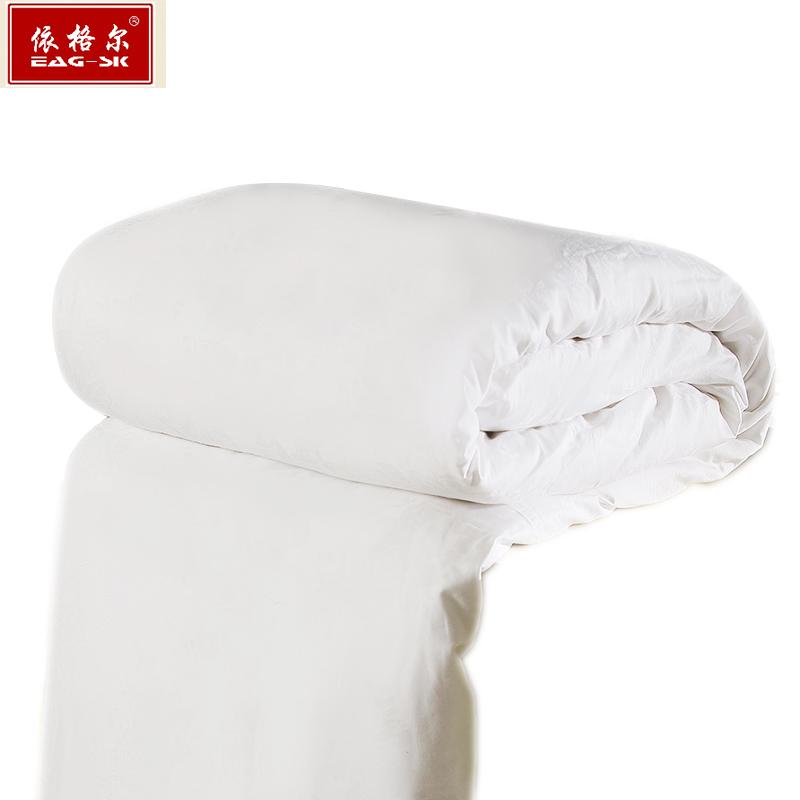 依格尔 生活出品 100%桑蚕长丝蚕丝被 220X240cm加大 双人蚕丝被 春秋被 净重2.25斤