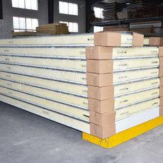 供应冷库板厂家定制聚氨酯冷库保温板材,组合冷库板