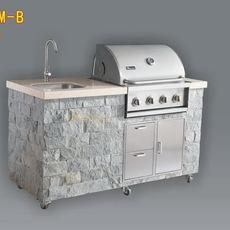 现货Miecns/美诺仕A314S-AM-B户外别墅烧烤台烧烤炉 BBQ烧烤炉 别墅户外烧烤炉