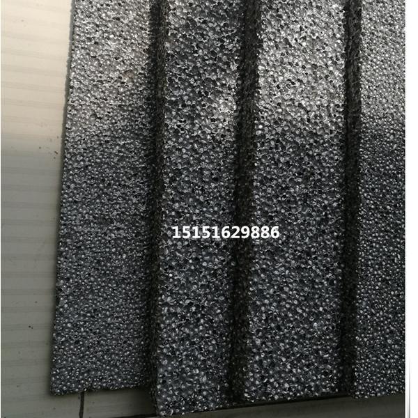 泡沫铝 声屏障彩色泡沫铝板材 隔热散热材料 三维泡沫铝