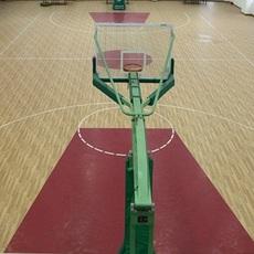 篮球场pvc运动地胶卷材出售