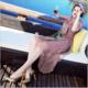 2017夏季新款 欧美精品女装夏装中长印花裙子大码A字裙真丝连衣裙