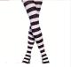 供应80D黑白条纹连裤袜