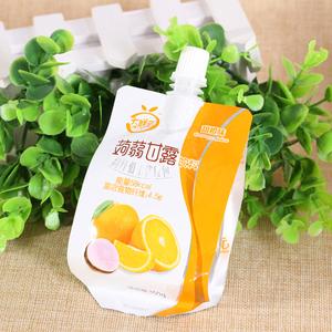 蒟蒻甘露饮料  高纤低卡代餐包  魔芋果冻 甜橙味 150g