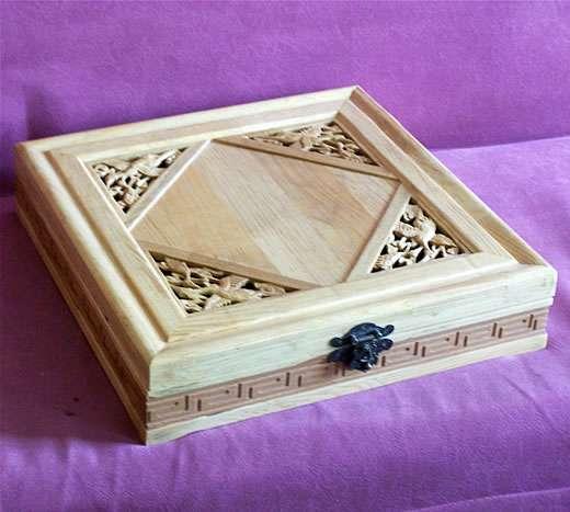 15精美木制茶盒430*430*750