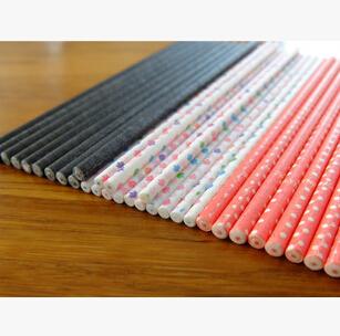 FDA认证棒棒糖棒 印刷公司名字和条形码外商独资全球最大纸棒工厂