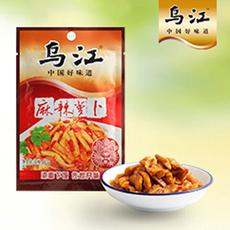 乌江萝卜干系列 麻辣萝卜60g 100袋一箱