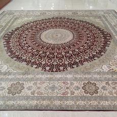 纯手工真丝地毯手工地毯波斯地毯立体剪花地毯