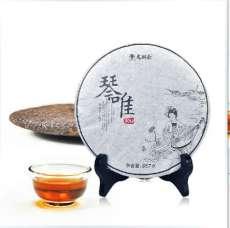 龙润茶 琴唯熟普洱茶饼